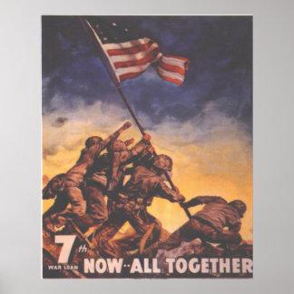 7th War Bond Poster
