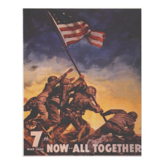 7th War Bond Poster