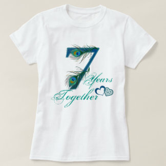 7th wedding anniversary / 7 / 7th / number 7 T-Shirt