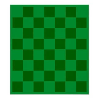7x8 Football Chess TAG Grid (Fridge Magnets) Posters
