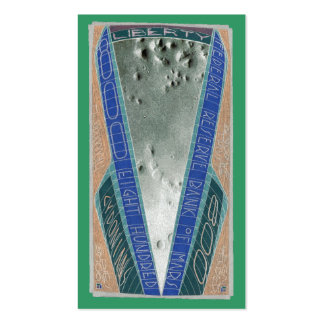 800 CYDONIANS-FACE On MARS-City-Five Sided Pyramid Double-Sided Standard Business Cards (Pack Of 100)