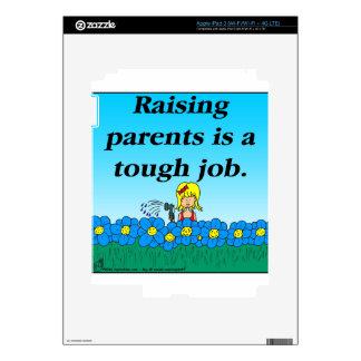 800 Raising parents cartoon Skin For iPad 3