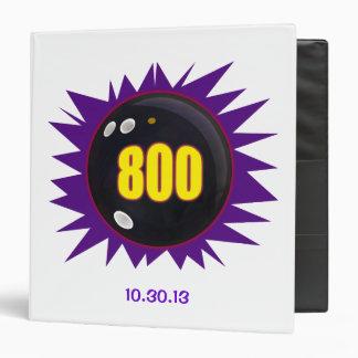 800 Series Bowling Ball Binder