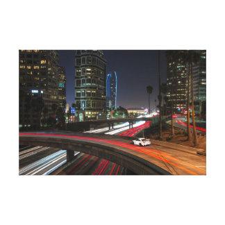 800hp Nissan GT-R R35 Libertywalk Los Angeles Canvas Print