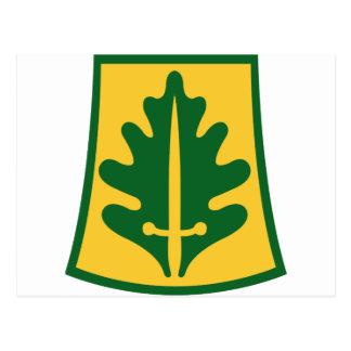 800o Brigada de la policía militar Tarjeta Postal