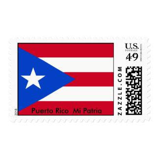 800px-Flag_of_Puerto_Rico, Puerto Rico MI Patria Estampillas