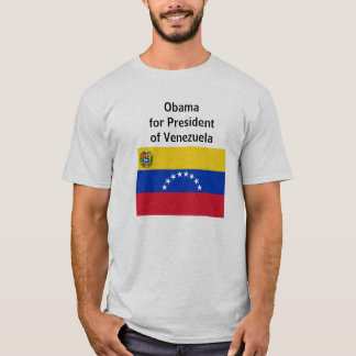 800px-Flag_of_Venezuela_(state).svg, Obama for ... T-Shirt