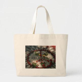 800px-Imagine[1] Large Tote Bag