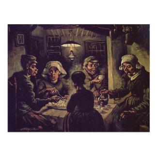 800px-vincent Van Gogh - el eaterspng de la patata Postal