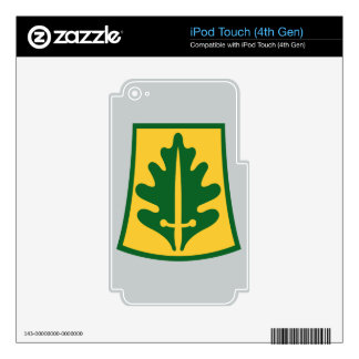 800th Military Police Brigade iPod Touch 4G Decals