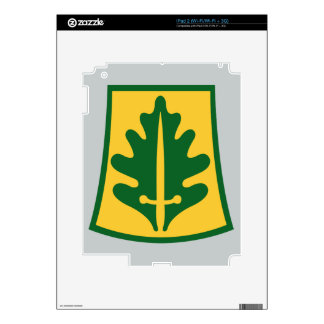 800th Military Police Brigade Skin For iPad 2