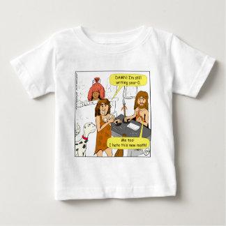 801 años todavía de escritura 0 en dibujo animado camisas