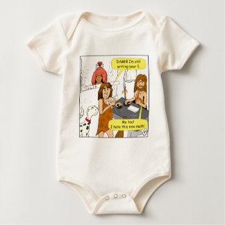 801 años todavía de escritura 0 en dibujo animado mamelucos de bebé