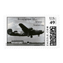 801st/492nd BG Stamp