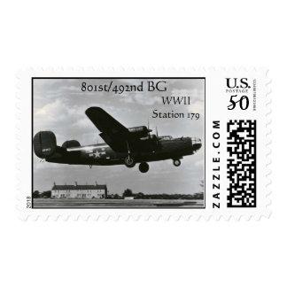 801st/492nd BG Stamp