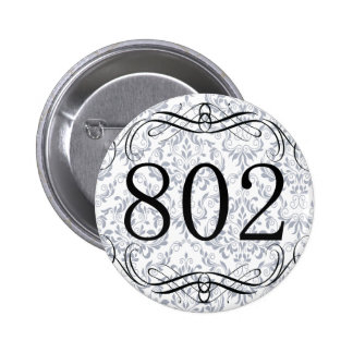 802 Area Code Buttons