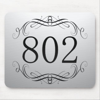 802 Area Code Mousepad