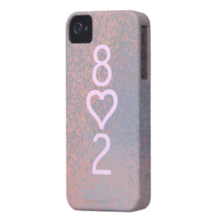 802 iPhone 4 Barely There Universal Case