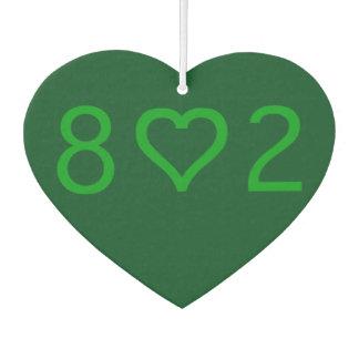 802 New Car Heart Air Freshener