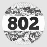 802 PEGATINA REDONDA