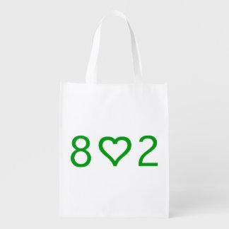 802 Reusable Bag Reusable Grocery Bag