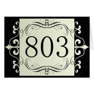 803 Area Code Card