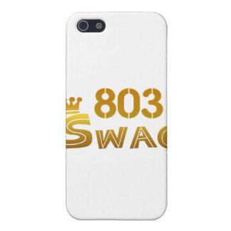 803 South Carolina Swag iPhone SE/5/5s Cover