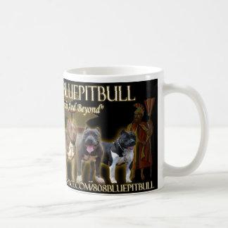 808 Blue Pitbull LineUp Mug