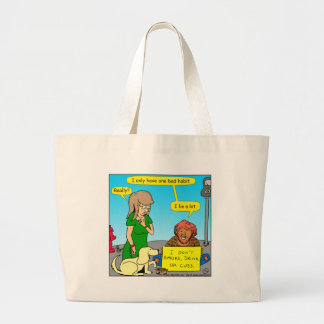 808 I lie a lot cartoon Large Tote Bag