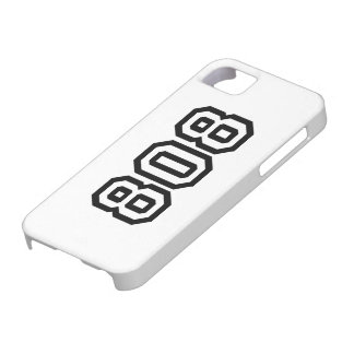 808 iPhone 5 FUNDAS
