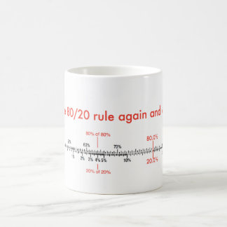 80/20 rule mosquito coffee mug
