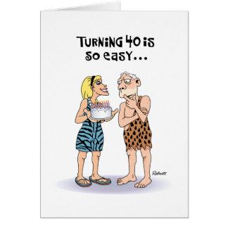 80.a tarjeta de felicitación del cumpleaños del ab