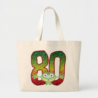 80 Age Ghoul Jumbo Tote Bag