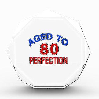 80 Aged To Perfection Acrylic Award