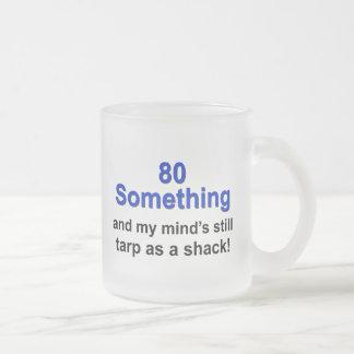 80 algo… taza de cristal