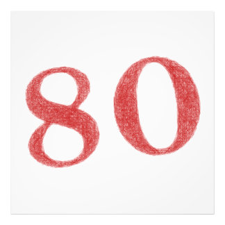 80 años de aniversario fotografías