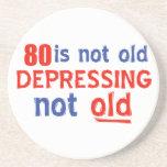 80 años no son viejos posavasos diseño