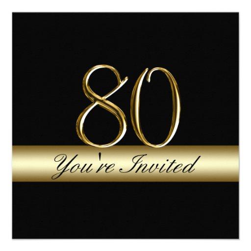 80.as invitaciones del cumpleaños del metal de la  invitacion personalizada