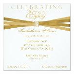 80.as invitaciones elegantes de la fiesta de invitación 13,3 cm x 13,3cm