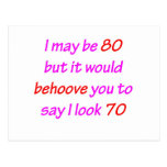 80 Behoove You Post Cards