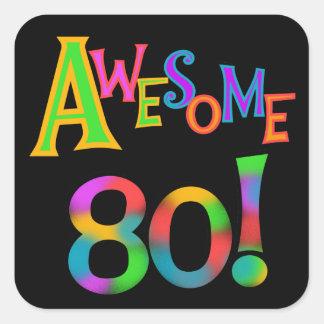 80 camisetas y regalos impresionantes del pegatina cuadrada