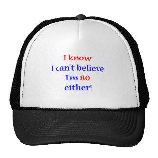 80 cualquiera gorra