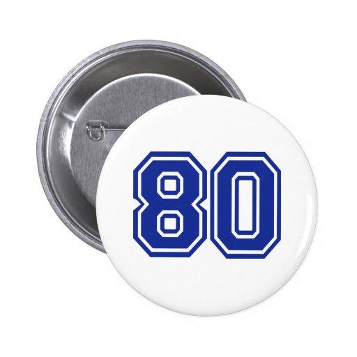 80 - eighty 2 inch round button