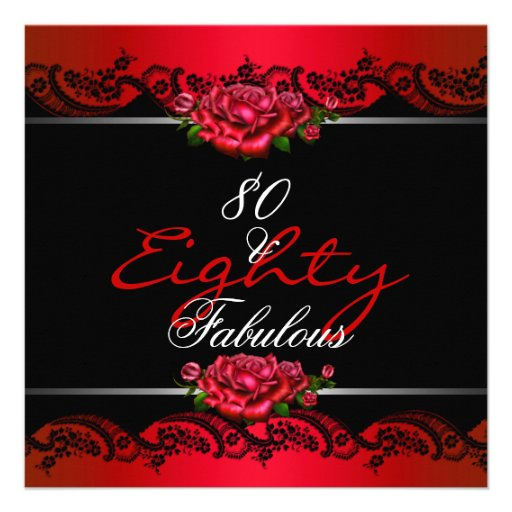 80Th Birthday Invitations Templates Free was perfect invitations sample
