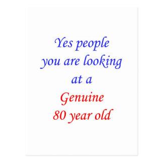 80  Genuine 80 Year Old Postcard