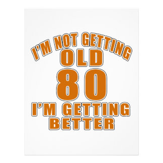 80 I Am Getting Better Letterhead