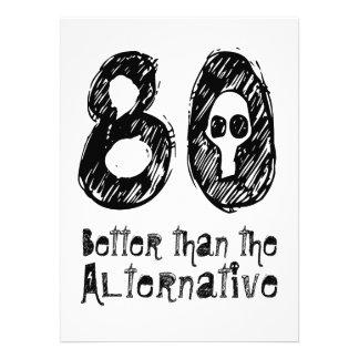 80 mejor que el cumpleaños divertido Q80 de la Comunicado