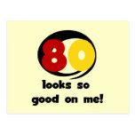 80 miradas tan buenas en mí camisetas y regalos tarjetas postales