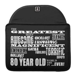 80 o Años más grandes de la fiesta de cumpleaños l Fundas Para Macbook Pro