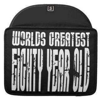 80 o Años más grandes del mundo del cumpleaños 80